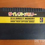 Sega Saturn X10 Direct Memory Kart