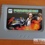 Sega Saturn King of Fighters 95 Kartuş